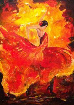 F Fire Painting, Fire Art, Garden Bar, Paintings, Dance, Tattoo, Hot, Pattern, Dancing