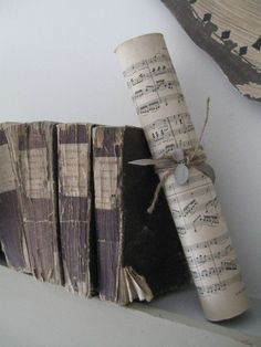 old 18th century paper books