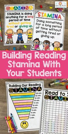 This Reading Stamina set will help build stamina with students. You will receive 32 pages of anchor charts, posters, and graphing sheets to help your kids build stamina while having fun! This product is perfect for the and grade classroom. What Is Reading, Reading Goals, Guided Reading, Stamina Anchor Chart, Anchor Charts, Building Reading Stamina, 5th Grade Classroom, Charts And Graphs, Readers Workshop