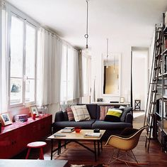 My dream...a nice little apartment in a city.