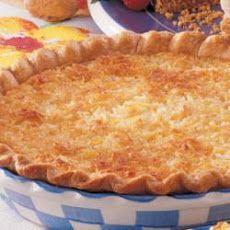 Coconut Pineapple Pie II Recipe