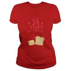 Awesome T Shirt For Husband And Wife 34th Wedding Anniversary Gift Ideas Popular Everything Videos Shop Animals Pets Architecture Art Cars