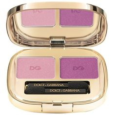 Dolce & Gabbana Smooth Eye Colour Duo ($45) ❤ liked on Polyvore featuring beauty products, makeup, eye makeup and eyeshadow