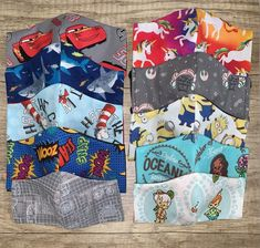 Toddler Face Mask/ Kids Face Mask/ Big Kids Face Mask/ Disney   Etsy Side Of Face, Pet Dander, Kid Character, Baby Disney, Mask For Kids, Go Shopping, Mask Making, Big Kids, Print Patterns