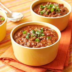 Chili doesn't have to sit all day to be hearty and flavorful! We're showing you the quickest way to whip a delicious batch of this cold-weather staplein just 30 minutes.  Recipe: 30-Minute ChiliSee More Chili Recipes