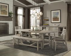 Corliss Landing Casual Dining Room Group by Cresent Fine Furniture