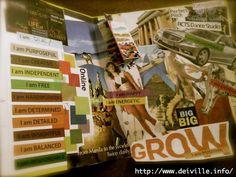 My #Summer2012 Vision Board  A 5-year Plan