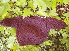 Free Knitting Pattern - Baby Sweaters: Chaos Sweater