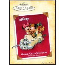 2004 World Class Shoppers, Disney - RARE | Hallmark Keepsake Ornaments | The Ornament Factory
