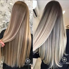 Black Coffee Hair With Ombre Highlights - 10 Cool Ideas of Coffee Brown Hair Color - The Trending Hairstyle Coffee Brown Hair, Coffee Hair, Curls For Long Hair, Long Brown Hair, Brown To Blonde Hair Before And After, Brown Blonde, Blonde Brunette, Hair Color For Women, Cool Hair Color
