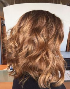 dark brown hair with caramel balayage