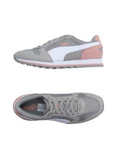 PUMA Sneakers & Deportivas mujer. tela técnica, en ante , logotipo,  estampado multicolor, cierre con cordones, puntera redonda, suela de goma,  ...