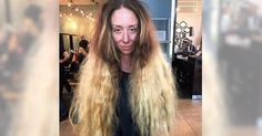 Stylist Transforms Bride-To-Be Who Hasn't Cut Hip-Length Hair In Years #SunnyStory #Vegas