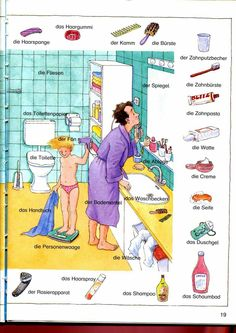 Im Badezimmer Mehr