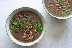 raw food vegan recepten bonensoep