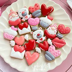 New Arrival Cutters | cookiesartbyshirlyn Valentines Day Cookies, Cookie Decorating, Creative, Desserts, Food, Tailgate Desserts, Deserts, Essen, Postres
