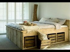 кровать из поддонов - Поиск в Google