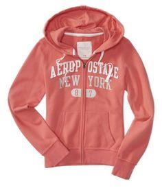 Aero Sparkle New York Full-Zip Hoodie - Aéropostale®