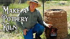 A simple convection kiln is an easy project for anyone looking to make a pottery kiln at home. Mine is made from puddled adobe and is easy to fire pottery in. Pottery Wheel Diy, Pottery Kiln, Pottery Making, Ceramic Pottery, Pottery Art, Beginner Pottery, Ceramic Clay, Ceramic Tools, Pottery Techniques