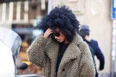 This afro is everything!