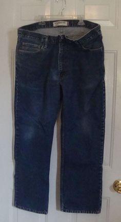 ad062288 Men's Levi's 505 Jeans Medium Blue Zipper Fly 40 x 30 Tag Size Actual 40x 29