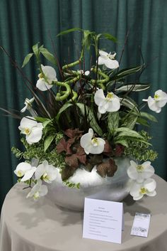 OHA Floral Design Competition, At the International Home & Garden Show