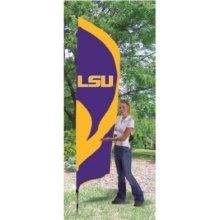 Party Animal LSU Tigers Tall Nylon Team Flag?