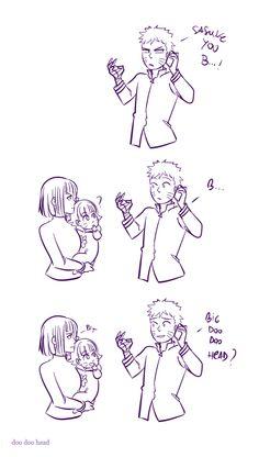 <3 Hinata, Naruto & Himawari