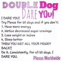 Are you Plexus preferred?? If not you are going to want to be..... I am giving away a special bonus ($$) to the next 2 peeps to go preferred!!!! Preferred customers get their goodies BELOW RETAIL, products delivered right to your door each month, YOU choose the products YOU want (no preselected packs), after 3 months you get an additional 10% off, can cancel anytime, AND you still get a 60 day money back guarantee!!! Winning I'd say!