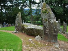 Midmar Kirk South Stone Circle: Echt, Scotland. Photograph by Rainer Steinke