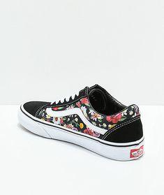 buy popular 754cc 259aa Vans Old Skool Digi Floral Skate Shoes