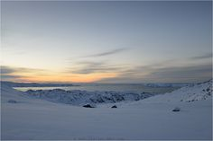 Isfjeldsbanken avec les icebergs du glacier Sermeq Kujalleq