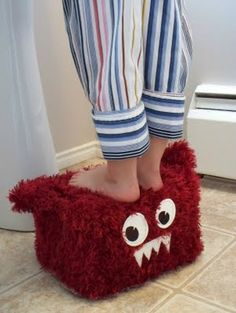 Monsterous Stepping Stool for Kids