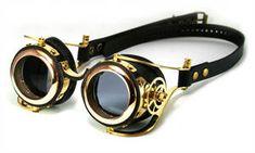ead7d72cf Steampunk goggles (polished brass) by AmbassadorMann Óculos Steampunk,  Lunette Steampunk, Steampunk Goggles