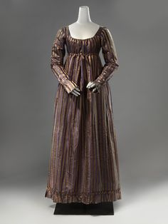 Dress ca. 1815-20 From the Rijksmuseum