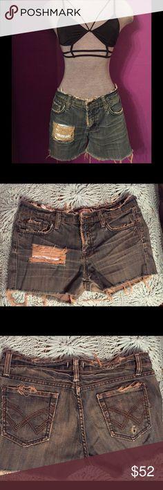 Boho jean shorts Boho jean shorts, Vigoss, Nordstrom, gypsy, distressed, up-cycled, short shorts, Daisy Duke, boho, bohemian, festival, Coachella Vigoss Shorts Jean Shorts