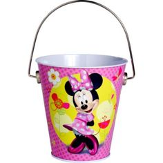 Minnie Mouse Metal Pail - Party City Balloon Weights?