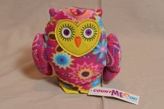 "Stuffed Owl Girl Scout  ABC Bakers ""Count Me In!""  Plush Animal New with Tags #beeposh"