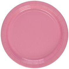 Amscan New Pink Paper Plate Big Party Pack, 50 Ct photo ideas from Amazing Party Decoration Ideas Tiki Torches, Wine Bottle Labels, Graduation Party Decor, Wine Parties, Big Party, Pink Paper, Party Tableware, Party Packs, Paper Plates