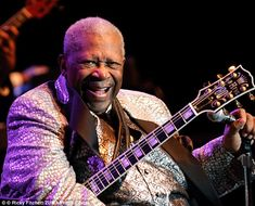 Blues legend B.B. King has died in Las Vegas at age 89, his lawyer confirmed on Thursday.  Attorney Brent Bryson said King (seen here performing in Pennsylvania in 2010) died peacefully in his sleep at 9:40 p.m. PDT at his Clark County, Nevada home in Las Vegas.   King, widely regarded as 'King Of Blues', sold millions of records worldwide, won 15 Grammy Awards and was inducted into the Blues Foundation Hall of Fame in 1980 and the Rock and Roll Hall of Fame in 1987.