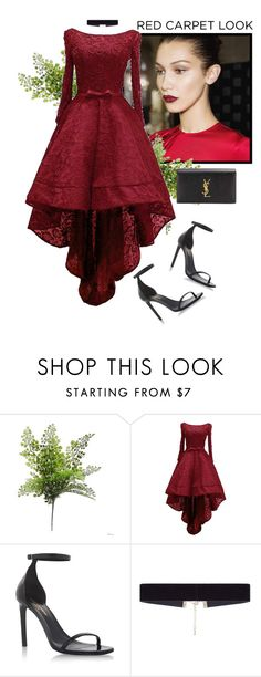 """Sans titre #827"" by morinef ❤ liked on Polyvore featuring Yves Saint Laurent and 8 Other Reasons"