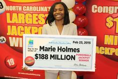Increase your chances of winning the lottery like Marie Holmes