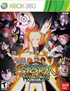 Naruto Shippuden: Ultimate Ninja Storm Revolution Xbox 360 *NEW* Naruto Shippuden, Itachi, Wii Games, Xbox 360 Games, Playstation Games, Nintendo Ds, Ninja Battle, Games, Prague
