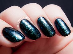 I Love Nail Polish Ultra Chrome Flakies - Complete Collection Swatch  GAIA