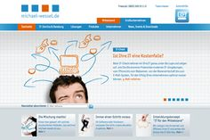 Internetauftritt für michael-wessel.de