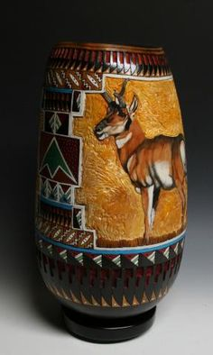 Amazing gourd art by Denise Meyers