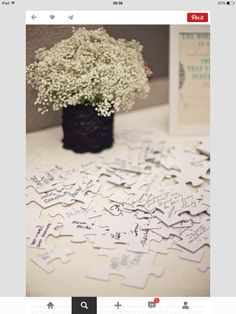 Instead of guest book