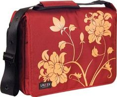 "Laurex Women's 17"" Laptop Messenger Bag"