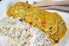 asian food, chicken korma, food, indian wallpaper and background Asian Chicken Recipes, Asian Recipes, Korma, Garam Masala, Naan, Food And Drink, Turkey, Favorite Recipes, Dinner