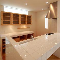 キッチン Kitchen Sets, Kitchen And Bath, Kitchen Dining, Concrete Kitchen, Loft Room, Kitchen Stories, Japanese House, Kitchen Organization, Home Renovation